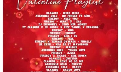 DJ Enimoney – Valentine's Playlist
