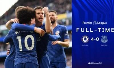Download Chelsea vs Everton 4-0 Highlights Video