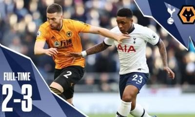 Video Tottenham vs Wolves 2-3 Highlights Download