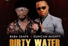 Baba sempe dirty water