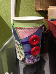 Quilt Top Coffee and Tea Koozies