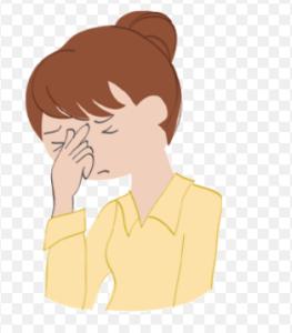 目の疲れに有効なケアは?頭痛や肩こりの原因になったり眠い場合も!