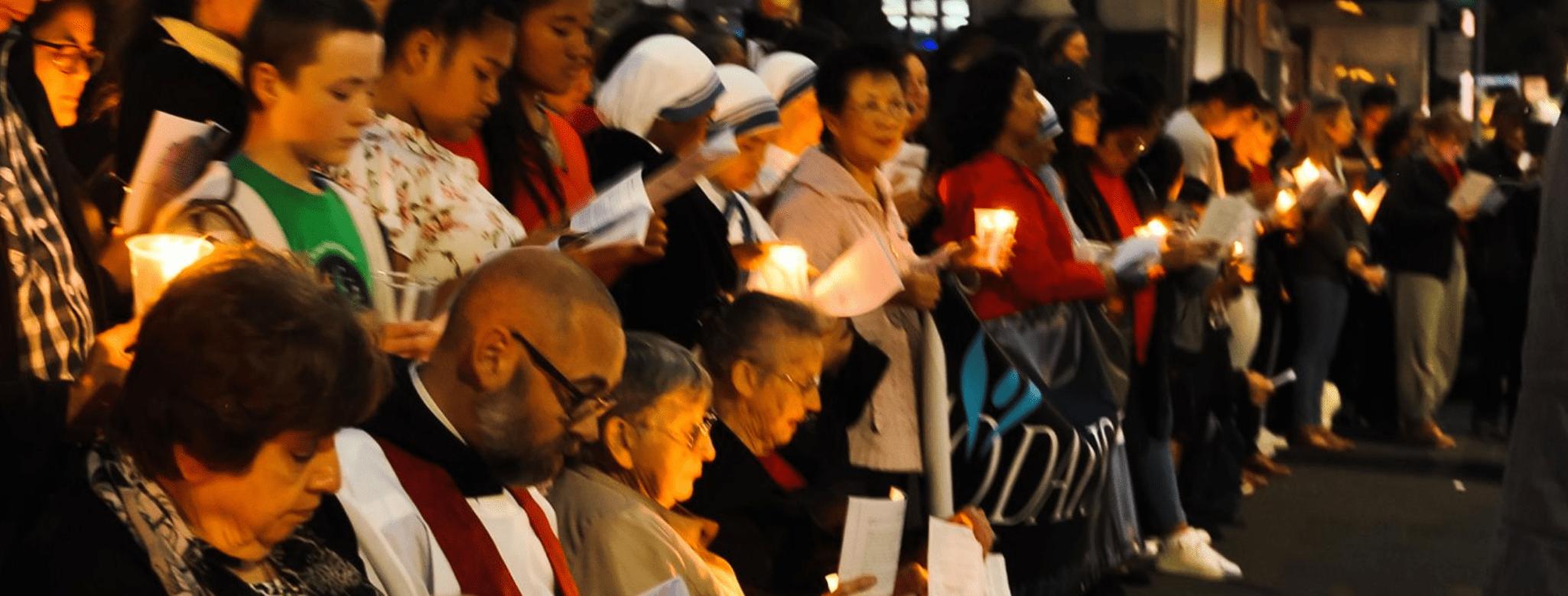 Candlelight vigil 2021