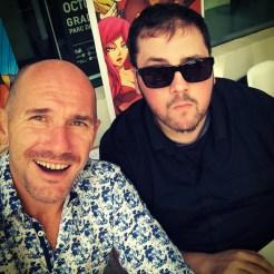 Edmond Tourriol et Ben Basso (Selfie : Edmond Tourriol) - Flibusk