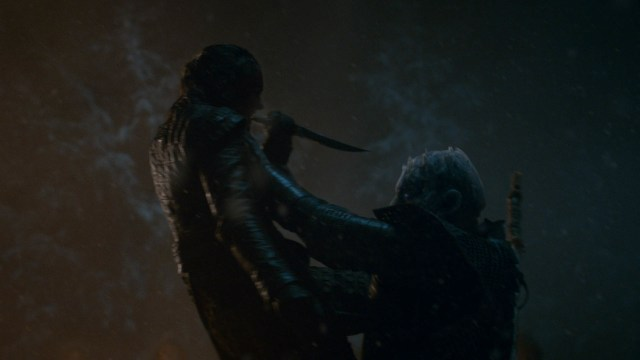 Game of thrones 8 - Arya kills the Night King