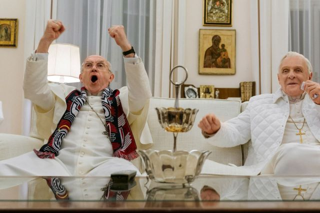 "Netflix's ""The Two Popes"""