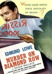Murder on Diamond Row Poster