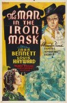 man in the iron mask poster