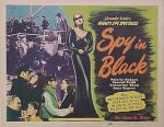 spy in black poster