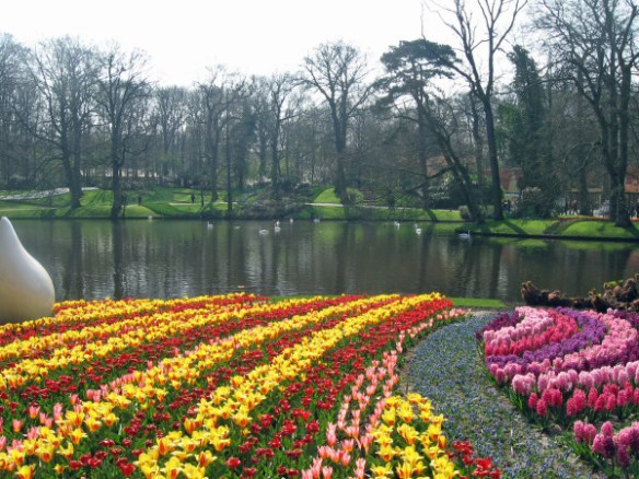 Lake at Keukenhof