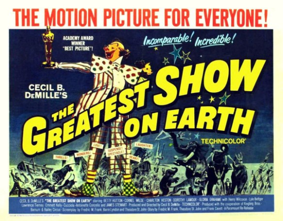 Poster - Greatest Show on Earth, The_02