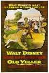 old yeller 1957 poster