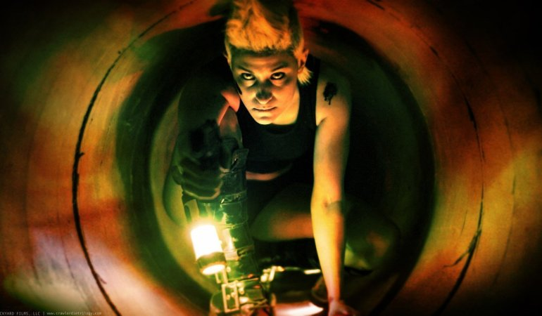 Oklahoma Ward and Nicole Alonso talk about their horror film CRAWL OR DIE