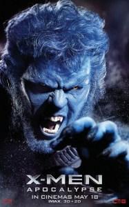 X-Men Beast Character Banner