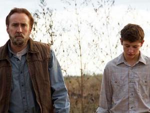 Nicolas Cage and Tye Sheridan in Joe