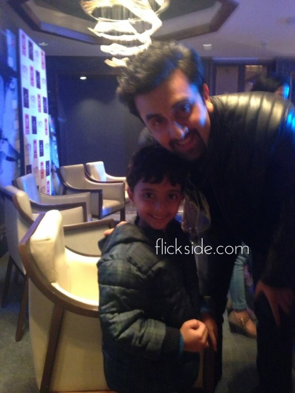 Meeting Ranbir Kapoor