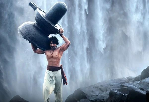 bahubali shivling scene