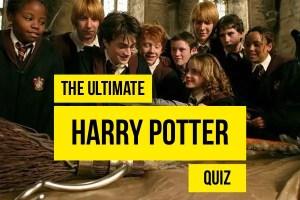 Harry Potter movie quiz