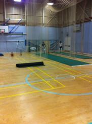 Southwold CC Indoor Nets at Benjamin Britten school