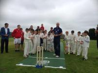 Chris with Littletown and Etherley u11's