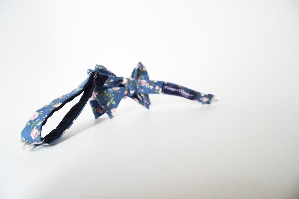 Fliege Rosenkavalier blau