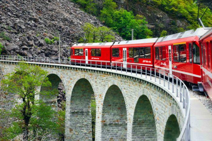 The Bernina Express Switzerland