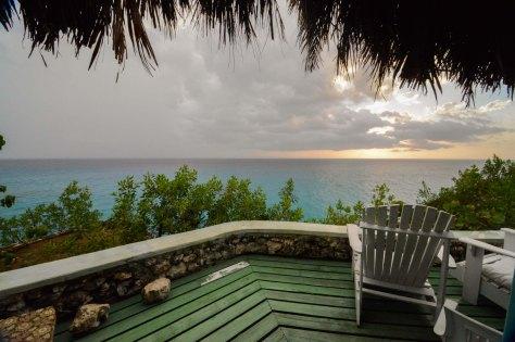 Negril jamaica sunset quiet sea view
