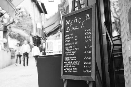 Enoteca delle Antiche Mura, Sirmione menu sign