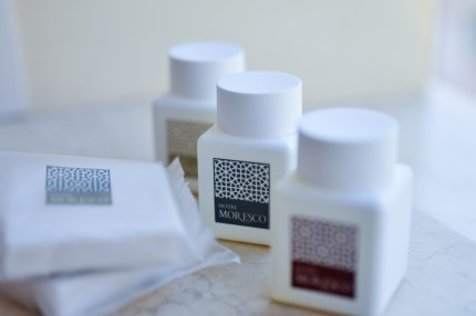 Hotel Moresco, Venice Italy Toiletries