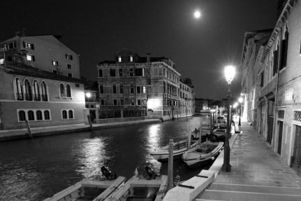 Outside Hotel Moresco, Venice Italy