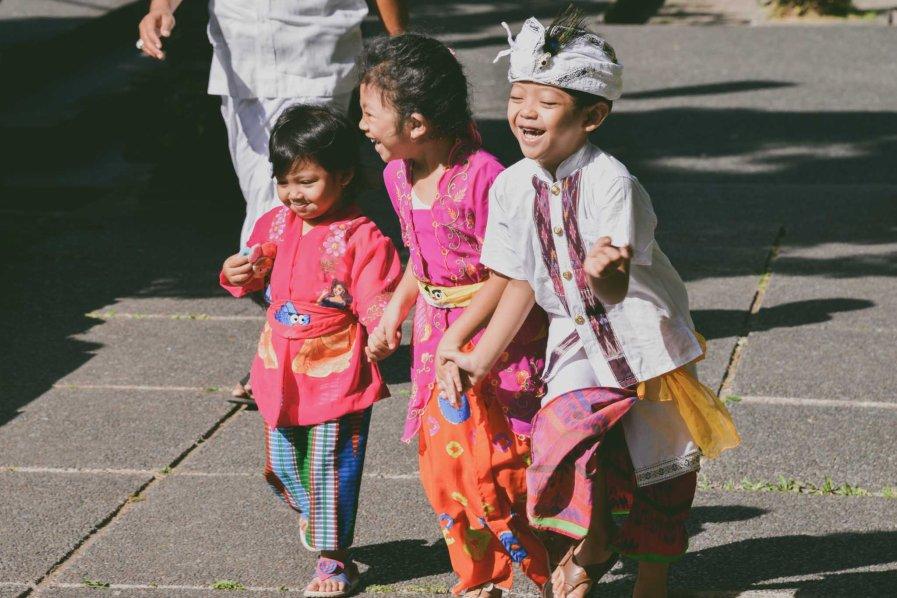 Balinese children galungan 2014