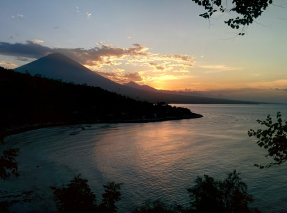 Sunset in Amed