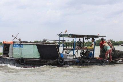 Family on the Mekong Delta