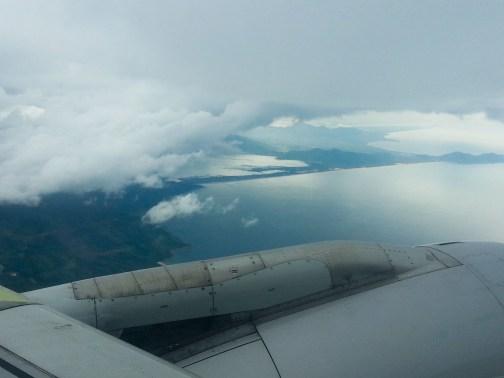 Flight to Ho Chi Minh
