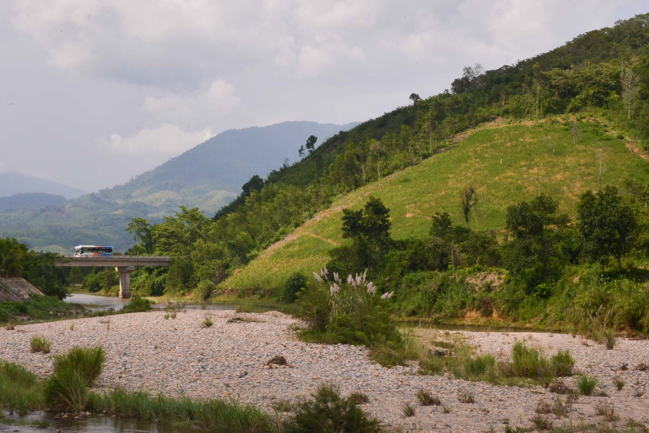 On our way to Da Lat, Nature is alive and ever-present