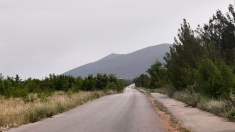 Road to Kravice Waterfalls