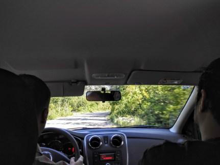 Driving to Orebic