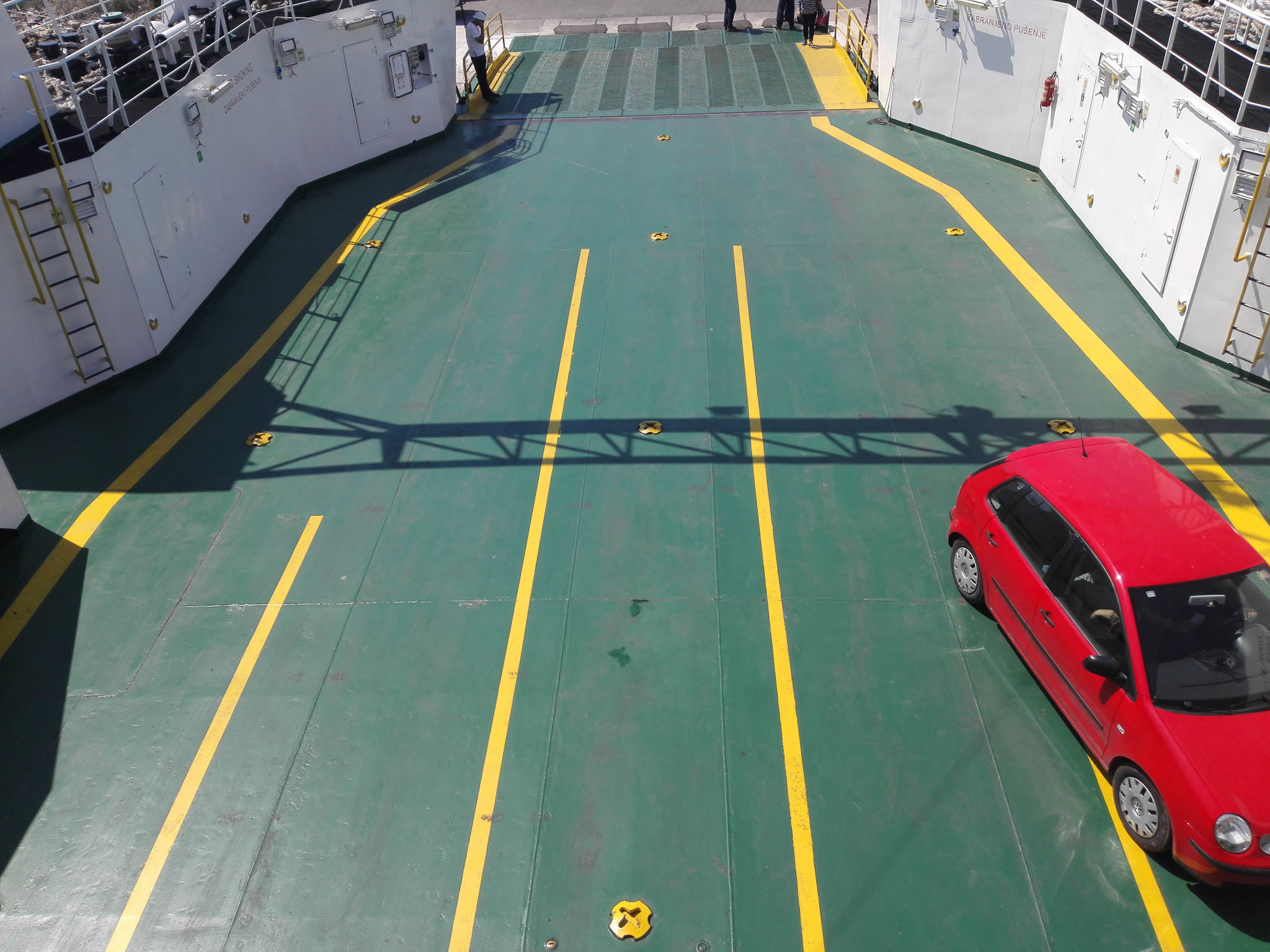 Jadrolina Ferry on our way to Korkula