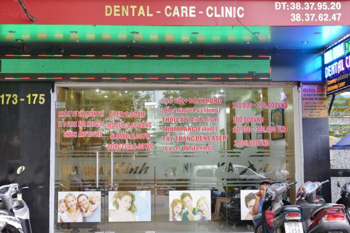 Time for a dentist, Ho Chi Minh Vietnam