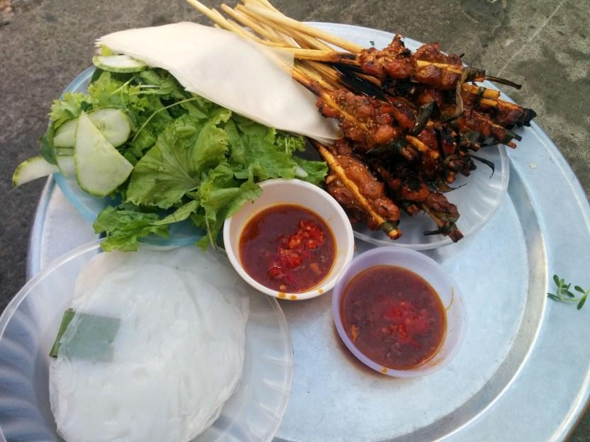 BBQ Pork Satay
