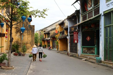 Morning Walks in Hoi An Old Town