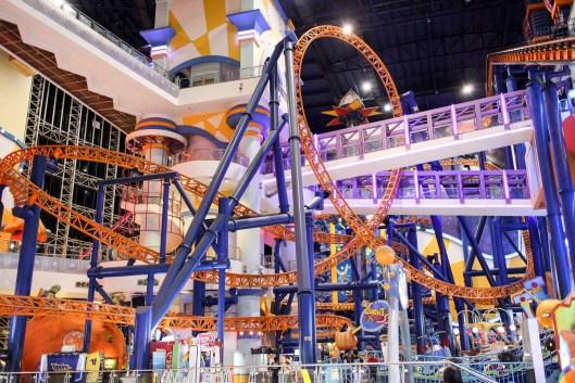 Amusement Park in Berjaya Times Square