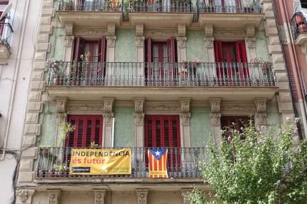 Buildings around Poble Sec, Barcelona