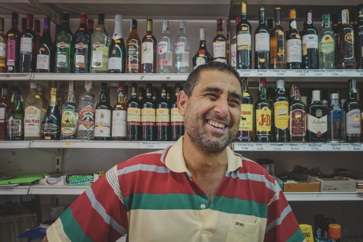 He runs the corner market and has the nicest smile!