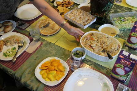 Home-cooked filipino food