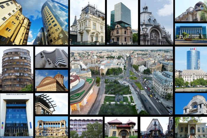 A city of contrasts: architecture in Bucharest