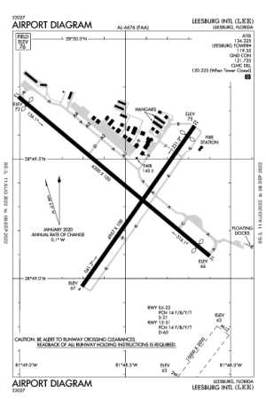 KLEE AIRPORT DIAGRAM (APD) FlightAware