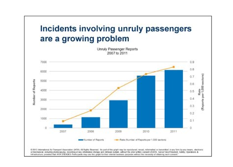 Unruly Passenger Report