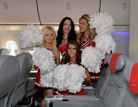 When public opinion stands against it, Norwegian does not hesitate to provide its own cheerleaders, Image Norwegian