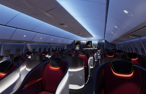 777X Interior Renderings